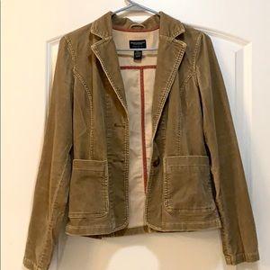 Vintage Tan Corduroy Jacket